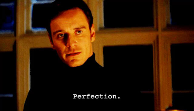 Perfection meme - Michael Fassbender