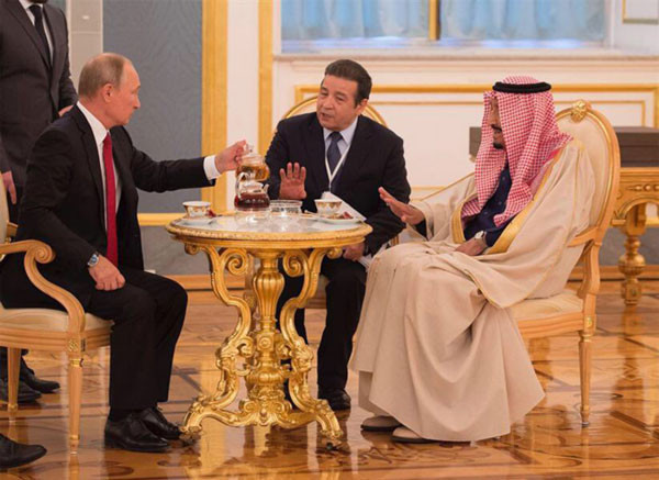 When Putin offers you tea but you're allergic to polonium