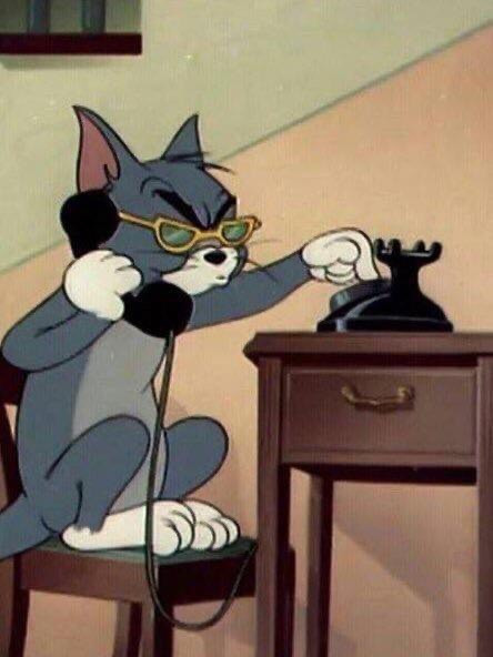 Tom cat calling the FBI meme